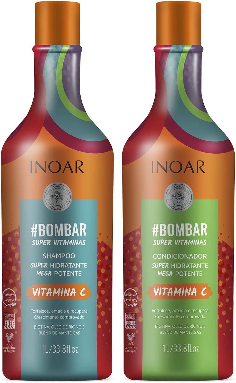 Shampoo e Condicionador Bombar Super Vitaminas