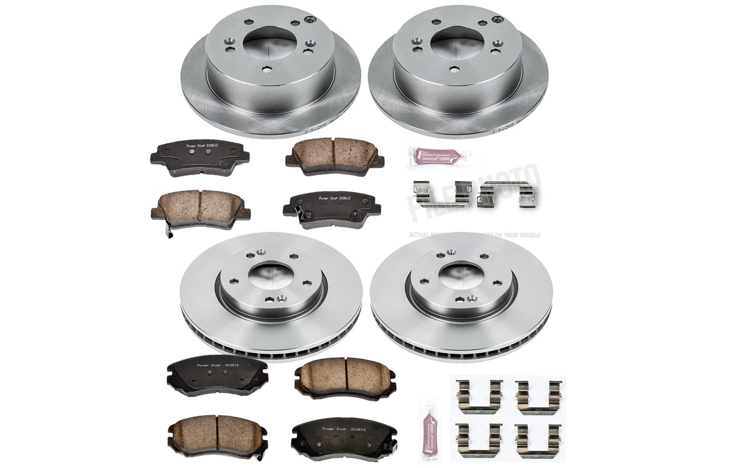Autospecialty (KOE5367) 1-Click OE Replacement Brake Kit by POWERSTOP (Image #1)