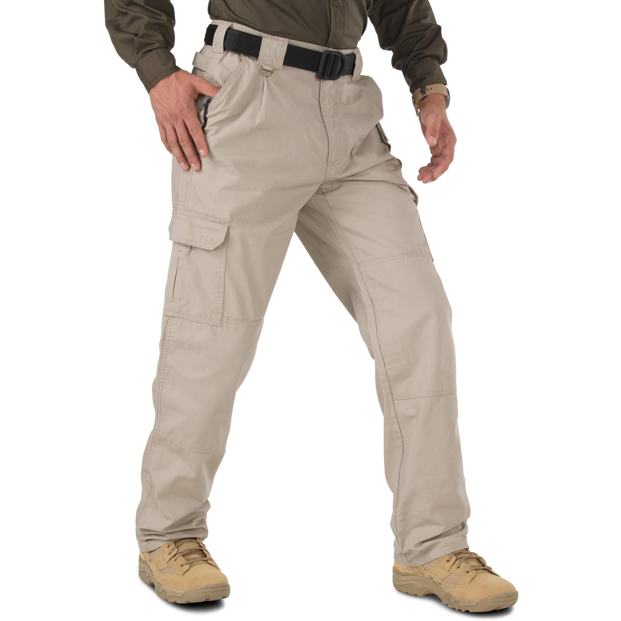 5.11 Tactical Men's GSA Approved Work Pants 100% Cotton Teflon Treatment Cargo Pockets Style 74252