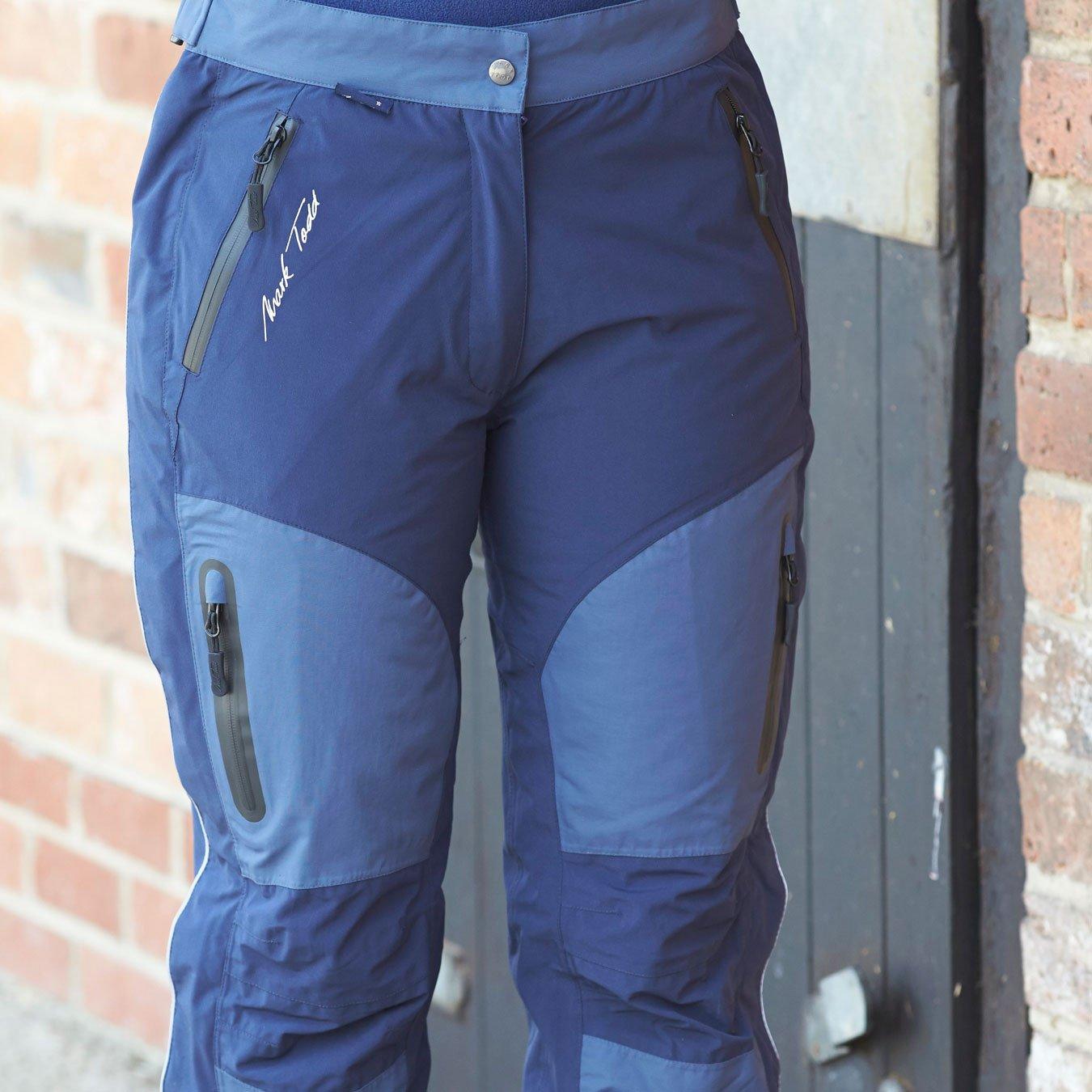 Mark Todd Reinga Ladies Waterproof Pant 8 reg Navy