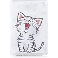 Jian Ying Case for Amazon Kindle Paperwhite 1/2/3/4 Beautiful Patterns Protector Cover White cat