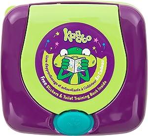 KANDOO Refillable Box Dispenser of 55 Melon Wipes New Formula