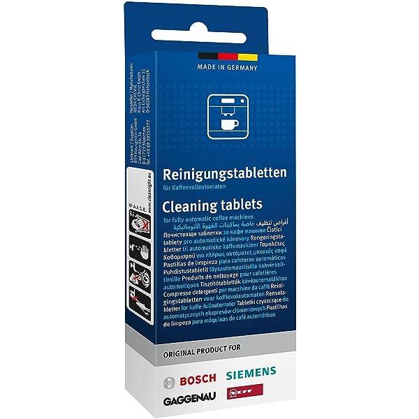 Bosch/Siemens - Pastillas descalcificadoras (6 unidades ...