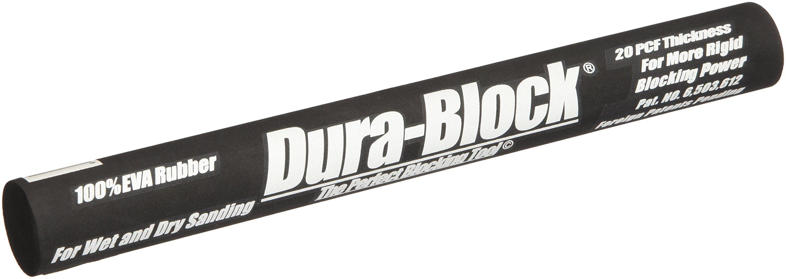 Dura-Block AF4404 Black Round Sanding Block
