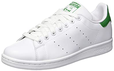 huge discount b4cf1 d46b3 Adidas Originals Stan Smith, Sneakers Basses homme-Blanc Vert -49 1