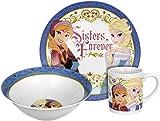 Disney Frozen Sisters Forever Dinnerware Set 3-Piece  sc 1 st  Amazon.com & Amazon.com | Disney Sofia The First Dinnerware Set 3-Piece: Coffee ...