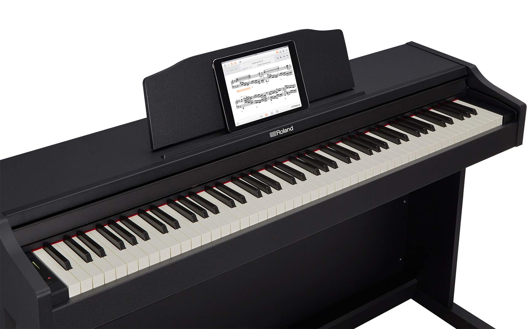 Roland RP102 Digital Piano Bundle with Furniture Bench, Online Lessons, Austin Bazaar Instructional DVD, and Polishing Cloth by Roland (Image #3)