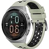 ساعة هواوي جي تي 2 اي هكتور-B19C ساعة ذكية - اخضر فاتح