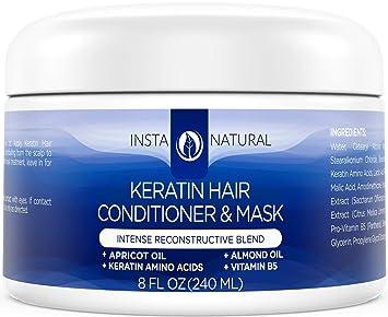 Amazon Com Keratin Complex Hair Mask At Home Deep Conditioner