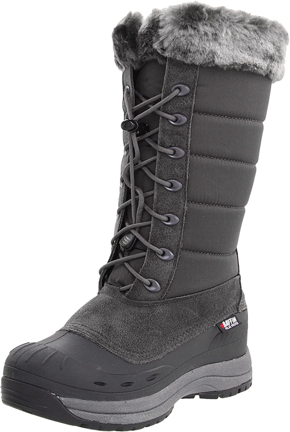 Baffin Women's Iceland Snow Boot B004W5NLRS 8 B(M) US|Grey