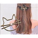 Leiothrix Cat Hair Clip Cute Festival Women's Decorative Hair Accessories Bridal Hairpieces