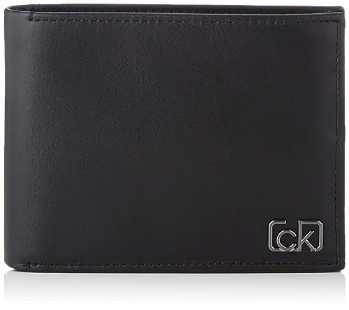 Calvin Klein - Ck Cast 10cc W/coin, Carteras Hombre, Negro ...
