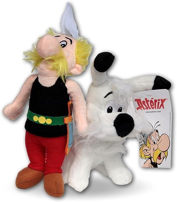 Astérix el Galo Pack 2x Peluches Asterix y Obelix 20cm Peluche ...