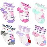 Peppa Pig Girls 6 pack Socks