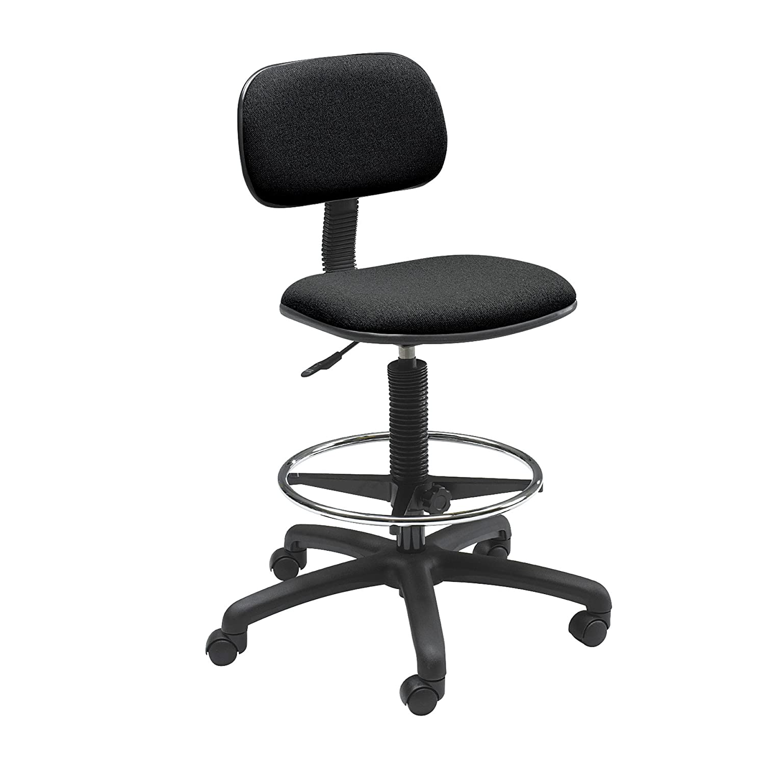 Safco Products Economy Extended Height Chair Additional options sold separately , Black