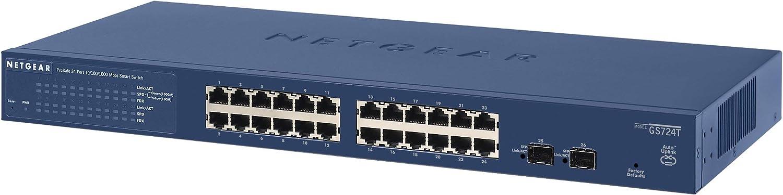 Netgear Gs724t 24 Port Gigabit Ethernet Lan Switch Computer Zubehör