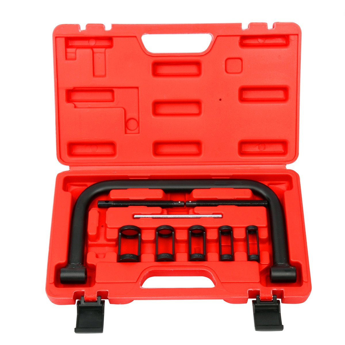 FreeTec 5 in 1 10PCS Auto Valve Spring Compressor Tool Kit Set For Cars Motorbikes freebirdtrading FT0017