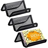 Amazon chiropractor business card holder office products metal mesh business card holder kakbpe desk business card desk office business card holders mesh colourmoves