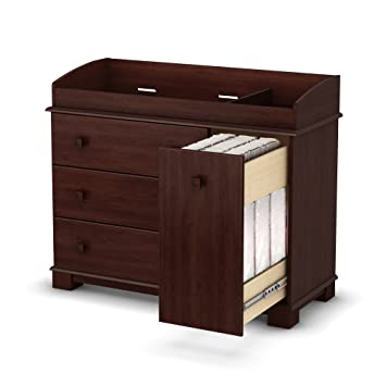 South Shore Precious Collection Changing Table, Royal Cherry
