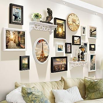 Dekorative Wande Bilderrahmen Wand Sets Von 14 Wohnzimmer