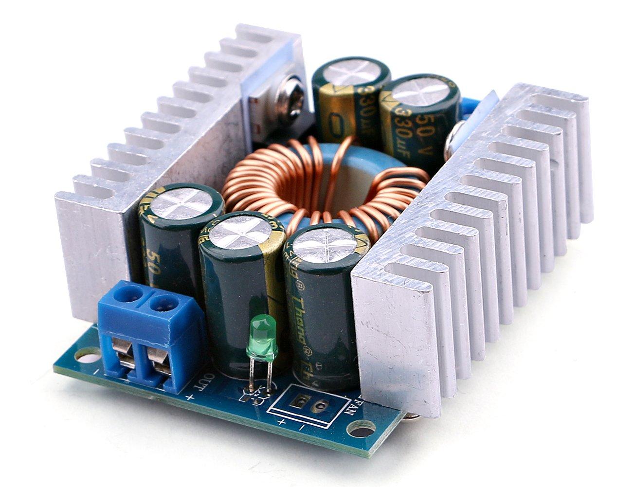 Yeeco Dc Voltage Converter 45 30v To 08 24v 12v Dc5v Dc30v By 74hc14 6v Step Down Reducer Adjustable Regulator Volt Power Transformer Module