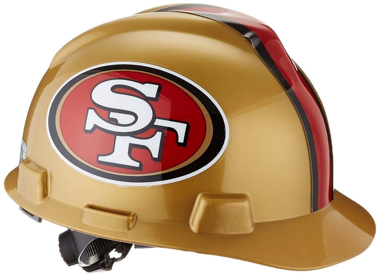 MSA 818409 NFL V-Gard Protective Cap, San Francisco 49ers by MSA