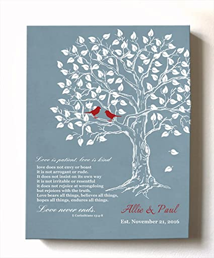 amazon com muralmax personalized family tree lovebirds