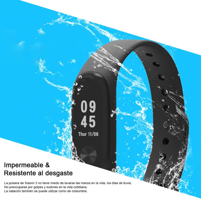 Madozon 13 Piezas Pulsera Xiaomi Mi Band 3 Correas Reloj Silicona Banda para XIAOMI Mi Band 3 Reemplazo - 13 Colores: Amazon.es: Deportes y aire libre