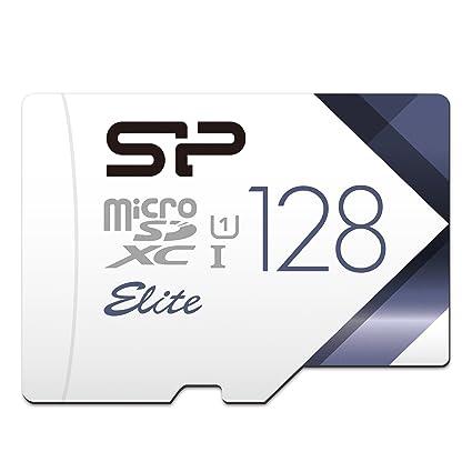 Silicon Power - Tarjeta Micro SDHC UHS-1 de 128 GB Clase 10 con Adaptador