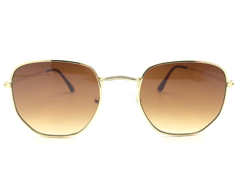 Optica Vision-Specs Gafas de sol hexagonales 548, Es marca ...