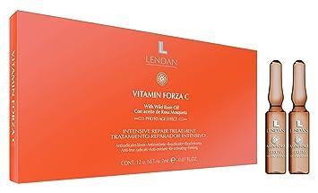 Lendan LD BZA Tratamiento Reparador Intensivo Vitamina C - 12 Ampollas: Amazon.es: Belleza