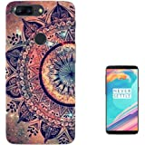 002911 - Paisley Aztec Henna Pattern Colourful Design OnePlus 5T Fashion Trend Case Gel Rubber Silicone All Edges Protection Case Cover