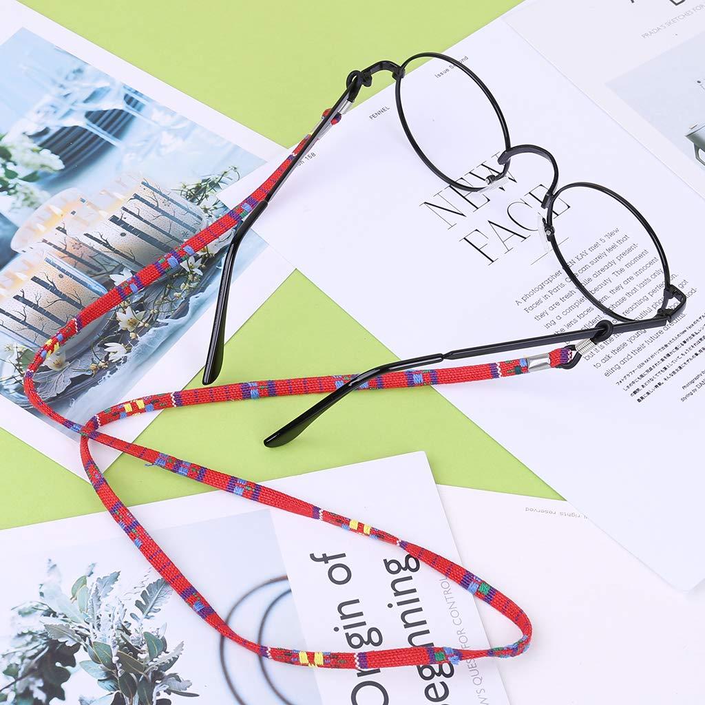 2 St/ück Haorw Brillenband Sonnenbrilleb/ügel Brillen Halter Kette Schnur Lanyard