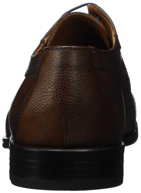 LLOYD Leder Herrenschuh ORWIN, moderner Business-Halbschuh aus Leder LLOYD mit Gummisohle Braun (Cigar) 855c7c