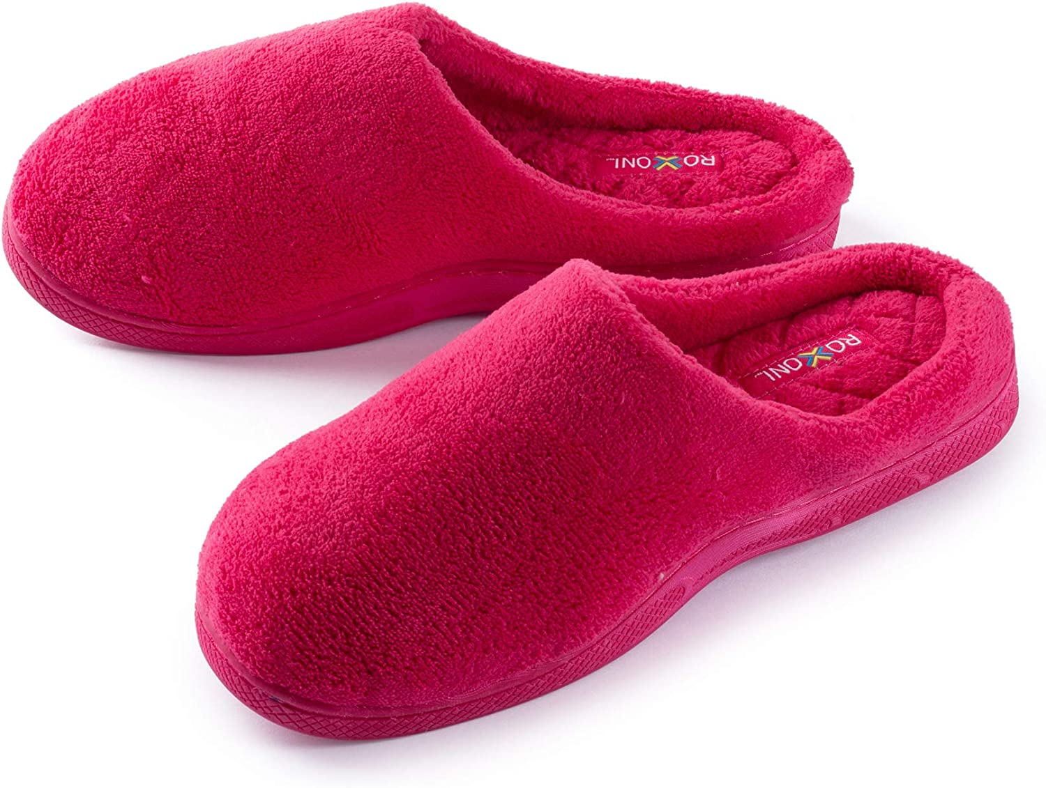 Plush Terry Clog Slippers