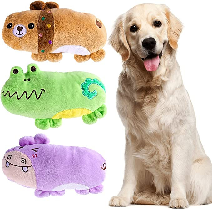 UEETEK Pack de 3 Squeaky Juguetes de Perros para Perros Cachorro ...