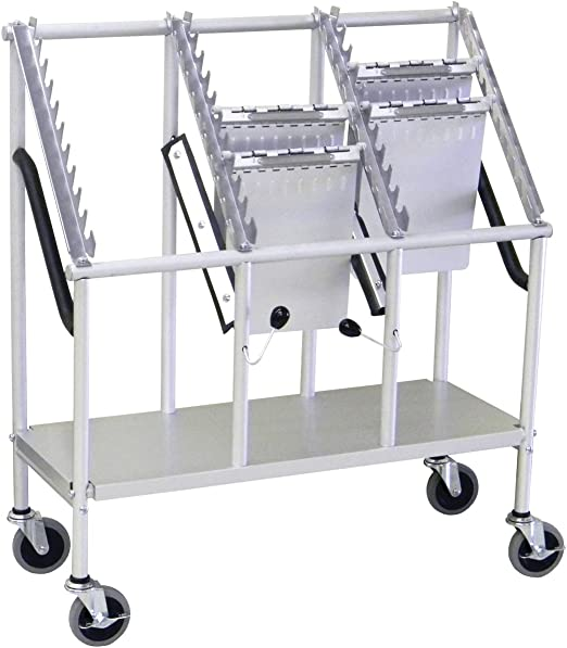 Amazon Com 3 Tier Wheeled Chart Carrier File Cart Home Audio Theater