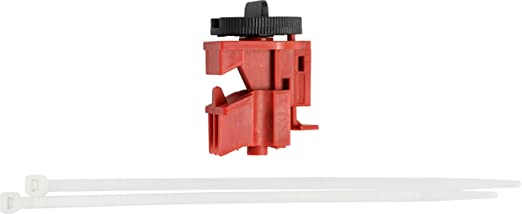 148694 Red Pack of 50 No Lock Needed Brady Taglock Circuit Breaker Lockout Devices 120//277 Volt Snap-On Multi-Pole Breaker Lockout Device
