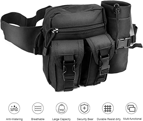 Tactical Waist Pack Belt Bag Camping Outdoor Hiking Military Pouch Geocache