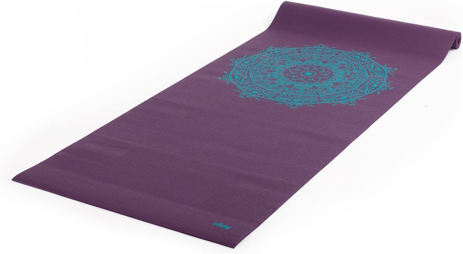 Printed Fees free Yoga Mat Leela Collection - N Very popular! Exercise Fitness