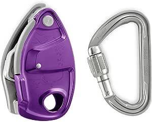 Petzl violeta Grigri + Plus escalada Belay dispositivo con ...