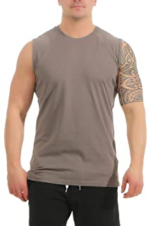 6c64c2e36f3c33 Mivaro Herren Shirt Ohne Ärmel - Tank-Top - Muscle Shirt - Muskelshirt -  Achselshirt