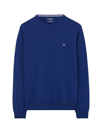 GANT Herren Superfine Lambswool Crew Sweater Pullover