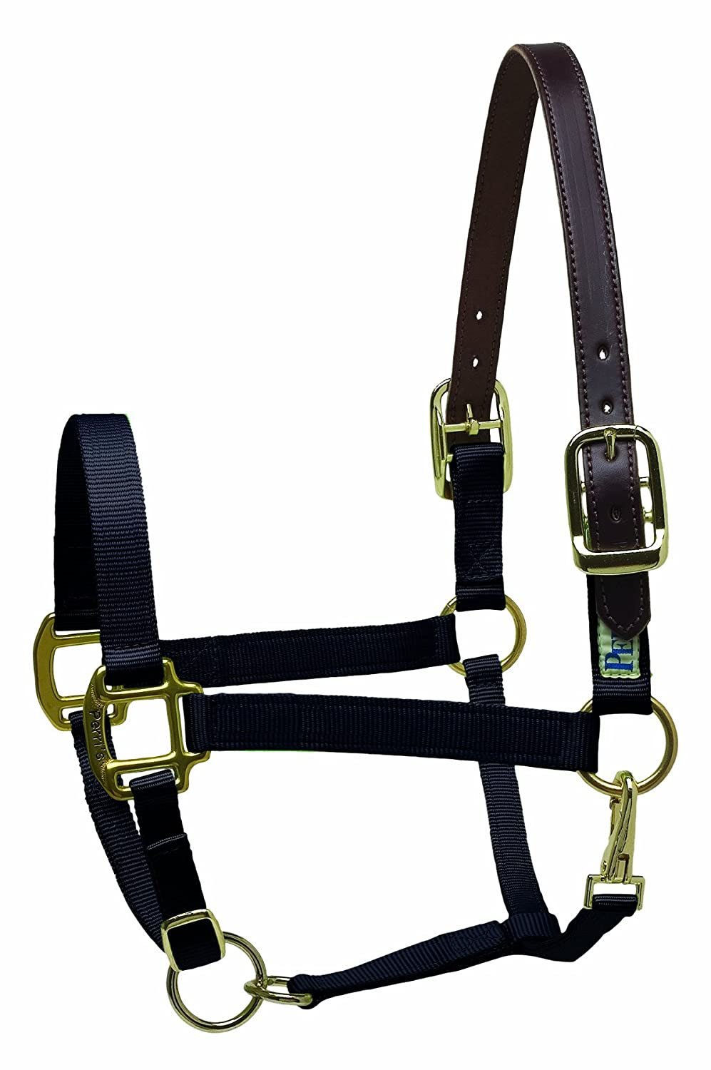 amazon com basic replacement leather halter crown piece sports