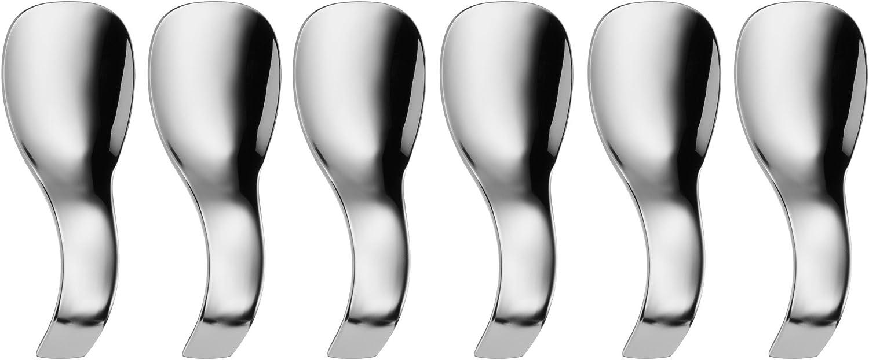 Edelstahl CHG Häppchenlöffel ca 13 x 3,6 cm 6-teilig