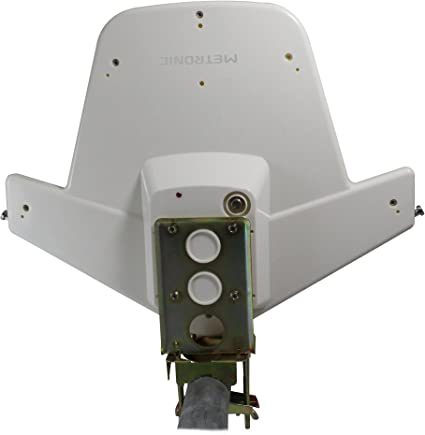 Metronic 427011 Antena Especial para Caravana y Camping UHF/VHF/FM Compatible 4g, Ganancia 34db.