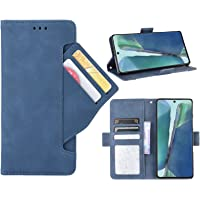 GoshukunTech Case for Samsung S20 FE,for Galaxy S20 FE 5G Wallet Case[ 5 Card Slots Leather Wallet ] Soft TPU inner Case…