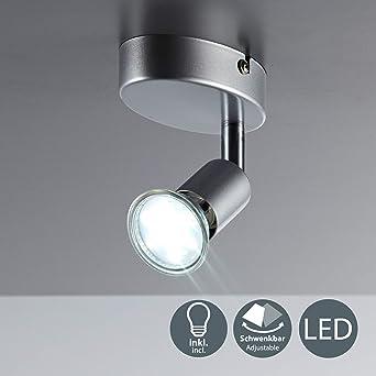 Deckenspot Warmweiss Deckenleuchte Schwenkbar Leuchte 3w Lampe Gu10 Deckenlampe Led Inklusive Spot Deckenstrahler IY6vbygf7