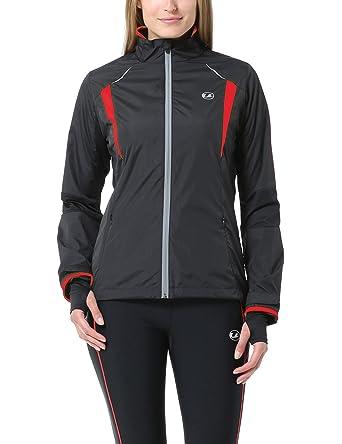 Ultrasport Stretch Delight - Chaqueta de running y ciclismo para mujer