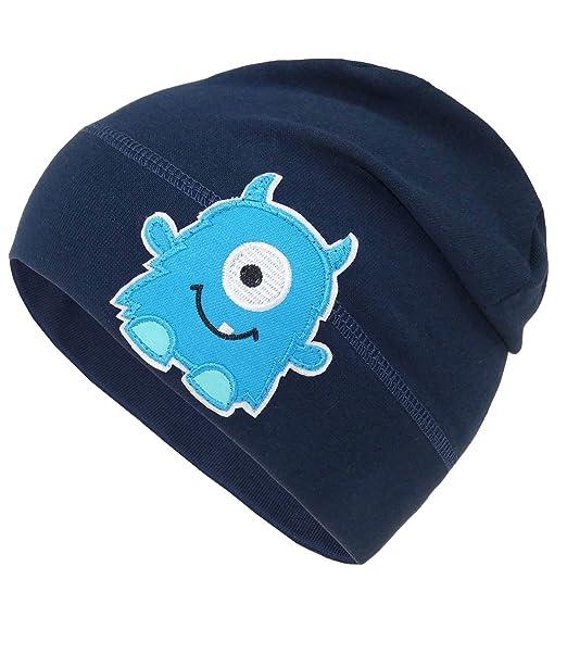 c63316103 EveryHead Fiebig Gorro De Niños Jersey Beanie Tapa Verano Sombrero Del Tela Niño  Pequeño Con Monstruo